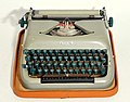 Biser typewriter with Latin letters 02.jpg