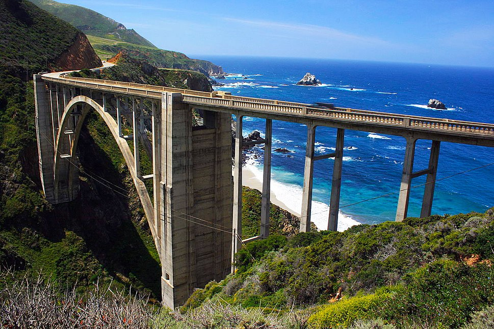 Bixby Creek Bridge, The Big Sur, California
