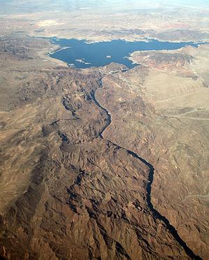Black Canyon of the Colorado - Image: Black Canyon, Hoover Dam & Lake Mead AZNV