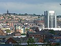 Blackburn townhall and St James church in distance - panoramio.jpg