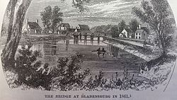 Bladensburg vuonna 1861 [1]