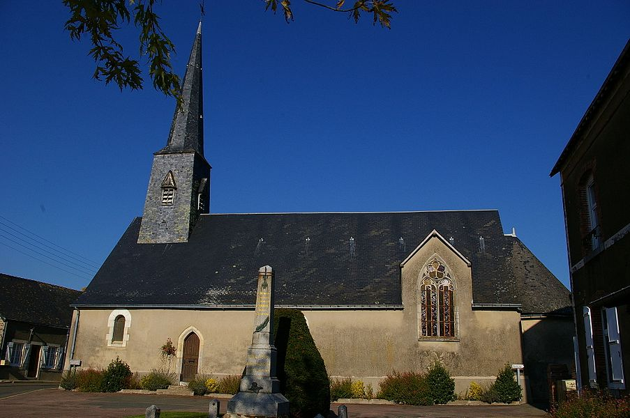 Eglise de Blandouet (Mayenne)