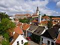 Blick auf das Schloss Krummau 5.JPG