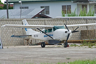 Blue Wing Airlines - Blue Wing Airlines Cessna U206G Stationair-6 PZ-TLV At SMZO