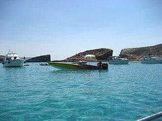 Cominotto - Image: Blue Lagoon, Comino