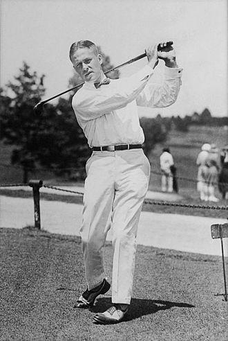 Bobby Jones (golfer) - Image: Bobby Jones c 1921