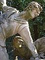 Boboli, terzo incrocio del viottolone, Orazio Mochi e Romolo del Tadda, i giocatori del saccomazzone (1780) 03.JPG