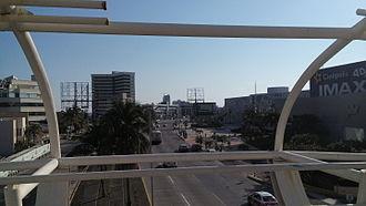 Boca del Río, Veracruz - View of the entrance to the WTC Veracruz (right)