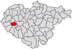 Commune Boghiș in Sălaj County