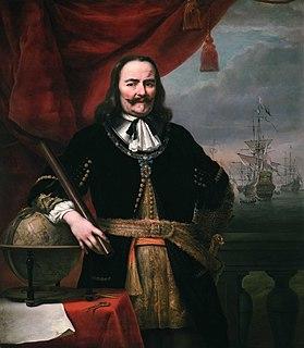 Michiel de Ruyter Dutch naval commander and folk hero