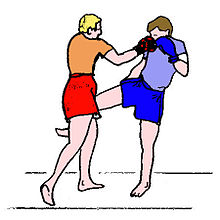Bolo punch in Burmese boxing