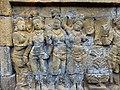 Borobudur - Divyavadana - 108 E, The Shipwreck and Maitrakanyaka meets the four Nymphs (detail 1) (11705098475).jpg