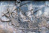 lukisan kapal borobudur