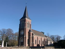 The church in Bosgouet