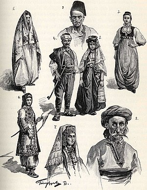 Bosnians - Bosnians at the time of the Austro-Hungarian occupation of Bosnia and Herzegovina.