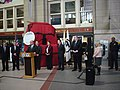 Boston, South Station, MassDOT Secretary Jeffrey Mullan, March 14, 2011 (5526515913).jpg