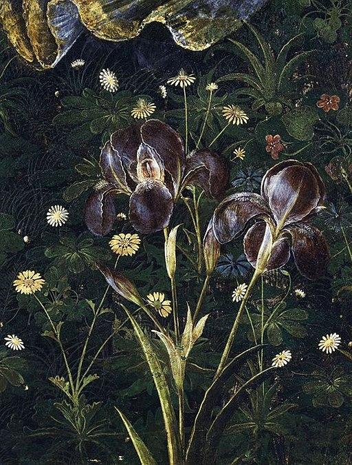 Botticelli's Primavera - detail 03
