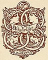 Bottom detail, (Two bookplates owned by artist Elihu Vedder) (LOC) (15423571330) (cropped).jpg