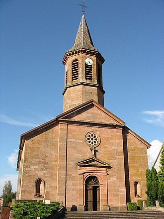 Bourg-Bruche - Image: Bourg Bruche St Pierre
