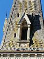 Bourrou église clocher lucarne.JPG