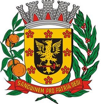 Olímpia - Image: Brasão de Olímpia, SP