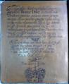 Brass ThomasDyke Died1689 KingstonStMaryChurch Somerset.xcf
