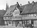 Braunschweig Geburtshaus Carl Friedrich Gauß Wilhelmstraße 30 (um 1900 retuschiert).jpg