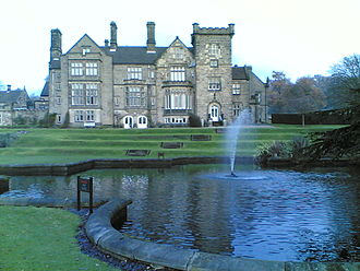 Breadsall Priory - Breadsall Priory in December 2005