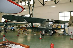 Breguet 19 - Jesus del Gran Poder in the Museo del Aire at Cuatro Vientos Air Base, Madrid, Spain