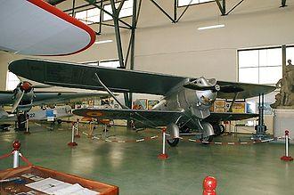 Breguet 19 - Jesus del Gran Poder in the Museo del Aire at Cuatro Vientos Air Base, Madrid, Spain