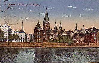 Bert Trautmann - Trautmann's birthplace, Bremen, in the 1920s