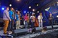 Brest - Fête de la musique 2014 - Big Band de Jazz - 005.jpg
