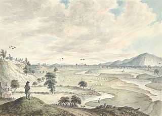 Breyden Hills from Llanymynech and Rodney's Pillar