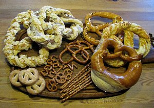 Pretzel - An assortment of pretzels