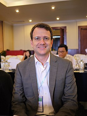 Brian Eyler is the Director of the Stimson Center's Southeast Asia program, and is regarded as an expert on transboundary issues in the Mekong region and China's economic relationship with Southeast Asia.[18]