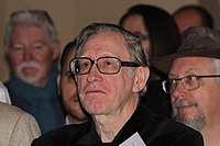 Brian Stableford à la remise du prix Actu SF aux 13emes Rencontres de l'Imaginaire de Sèvres le 26 novembre 2016 - 02.jpg