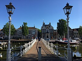Bridge over Noorderhaven for Raddhuissteeg at Harlingen NL.jpg