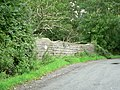 Bridge over disused railway line St Hilary - geograph.org.uk - 921499.jpg