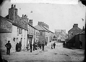 Llangefni - Bridge street, Llangefni circa 1875