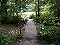 Bridge to the causeway at Newmillerdam - geograph.org.uk - 919875.jpg