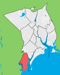 Location in Bridgeport