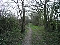Bridleway 1630 just south of the A264 - geograph.org.uk - 411212.jpg