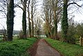 Bridleway past South House - geograph.org.uk - 2365553.jpg