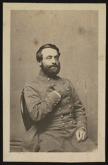 Brigadier-General William E. Baldwin of 14th Mississippi Infantry Regiment in uniform) - Bendann Brothers' Galleries of Photography, 205 Balto. St LCCN2016647908.tif