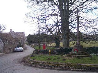Brimpsfield Human settlement in England