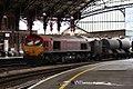 Bristol Temple Meads - DB Cargo 66152 with RHTT.JPG
