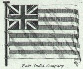 British East India Company Flag from Rees