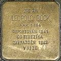 Brno Stolperstein Leopold Bock.jpg
