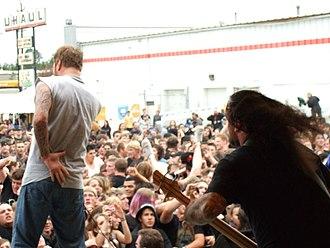 36 Crazyfists - 36 Crazyfists headlining the Summer Meltdown Festival in midtown Anchorage, July 2007.