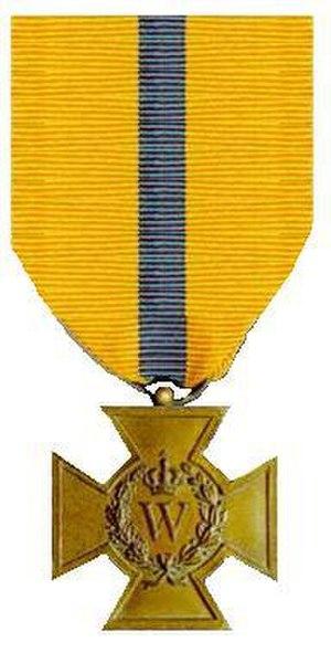 Bronze Cross (Netherlands) - Image: Bronzen Kruis 1941